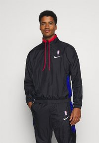Nike Performance - NBA CITY EDITION TRACKSUIT - Tracksuit - black/rush blue/university red - 0