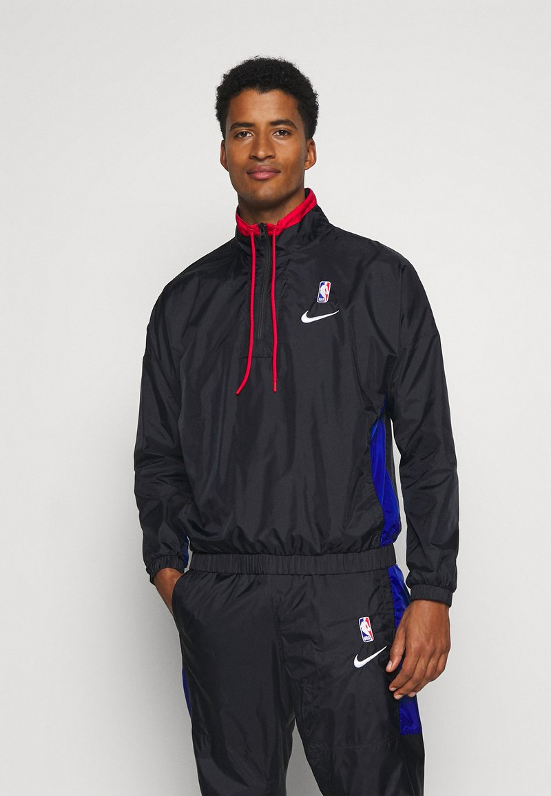 Nike Performance - NBA CITY EDITION TRACKSUIT - Tracksuit - black/rush blue/university red