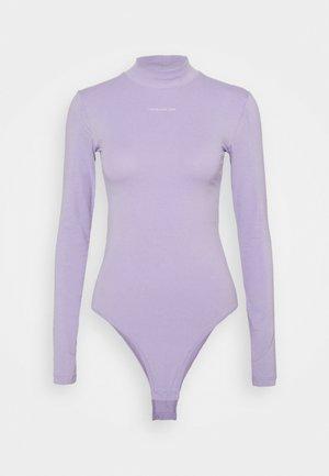 MICRO BRANDING - Long sleeved top - palma lilac