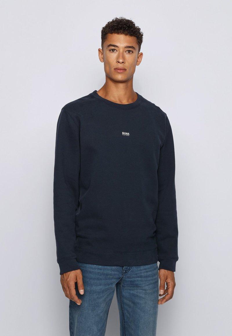BOSS - WEEVO - Sweatshirt - dark blue