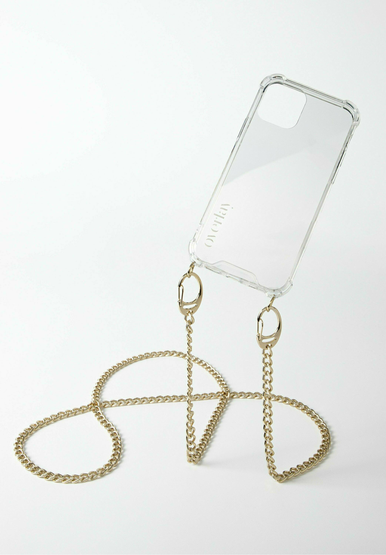 Damen IPHONE 12 MINI - MISTER T. CHAIN GOLD - Handytasche