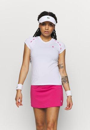 HYPERCOURT EXPRESS TEE - Print T-shirt - white