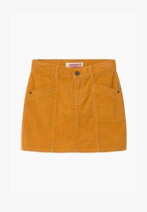 QATRIES - Minirok - ochre yellow