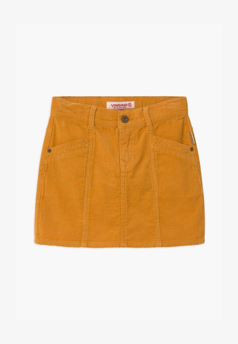 Vingino - QATRIES - Mini skirt - ochre yellow