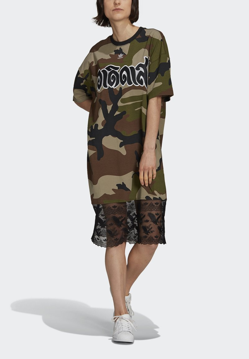 adidas Originals - TEE DRESS - Jersey dress - multicolor