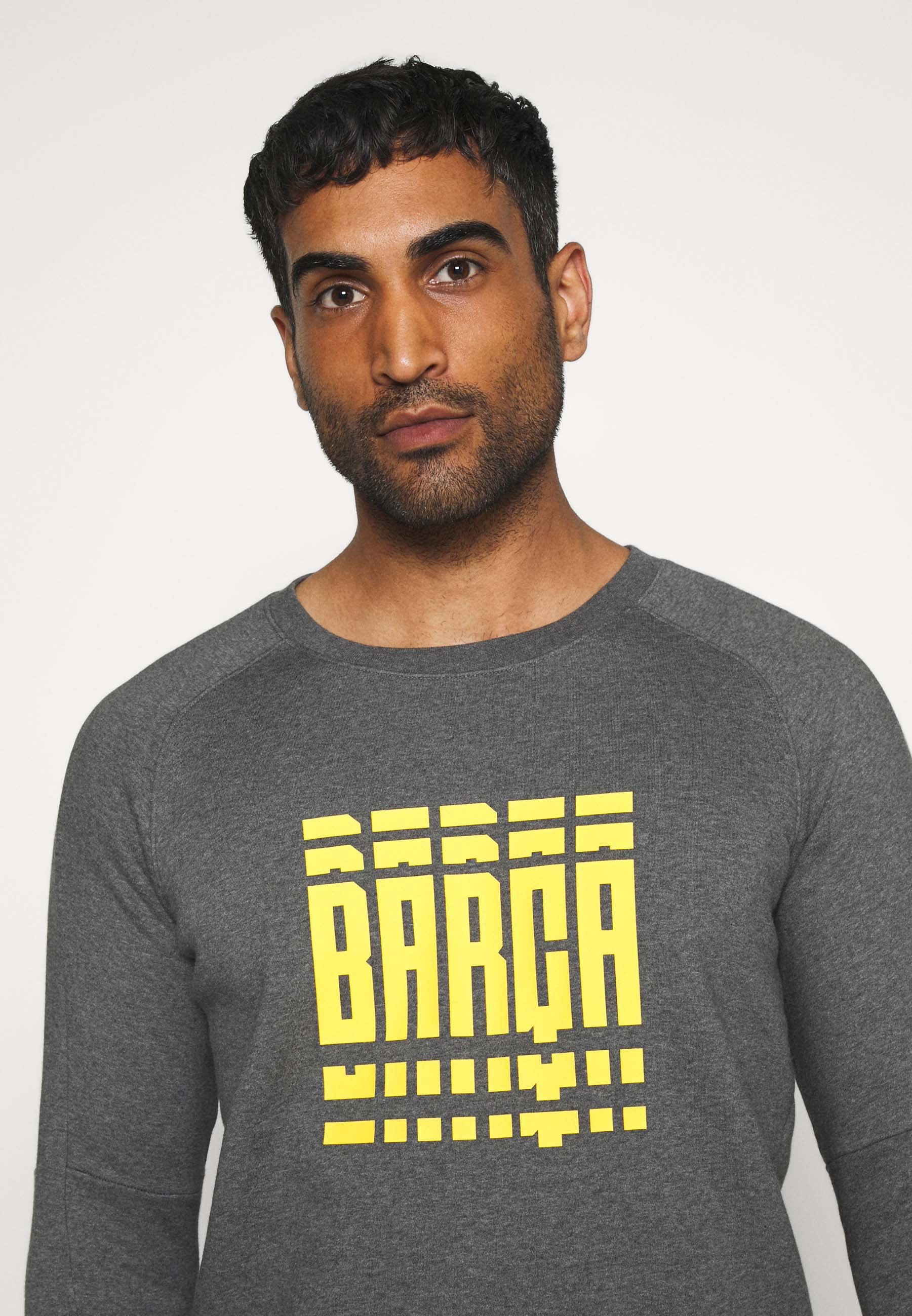Nike Performance FC BARCELONA - Article de supporter - charcoal heather/amarillo