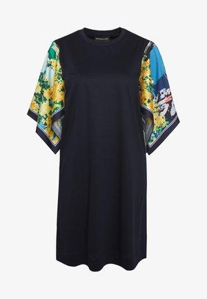 SOCRATE - Jersey dress - ultramarine