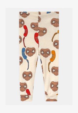 BABY E.T. UNISEX - Leggings - Trousers - offwhite