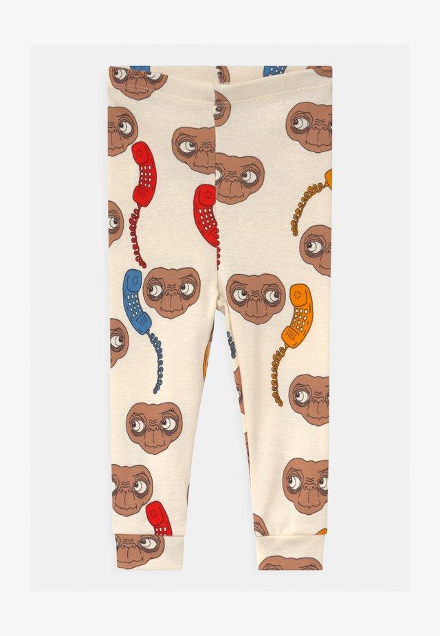 BABY E.T. UNISEX - Leggings - offwhite