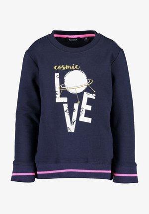 COSMIC LOVE - Sweatshirt - nachtblau