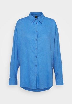 LINA - Hemdbluse - light dusty blue