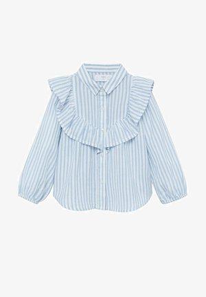 VOLANT RIGHE - Overhemd - bianco sporco