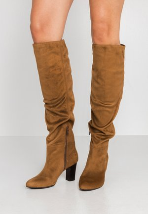 URICA - Over-the-knee boots - peanut