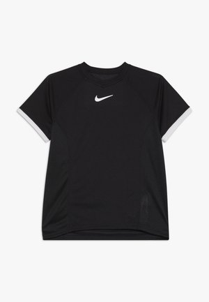 DRY - T-shirt print - black/white