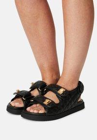 Dune London - LOCKSTOCKK - Sandals - black - 0