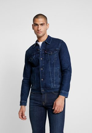THE TRUCKER JACKET - Denim jacket - dark-blue denim