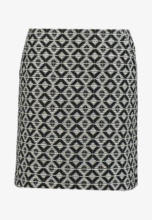SKIRT SHORT - A-line skirt - black