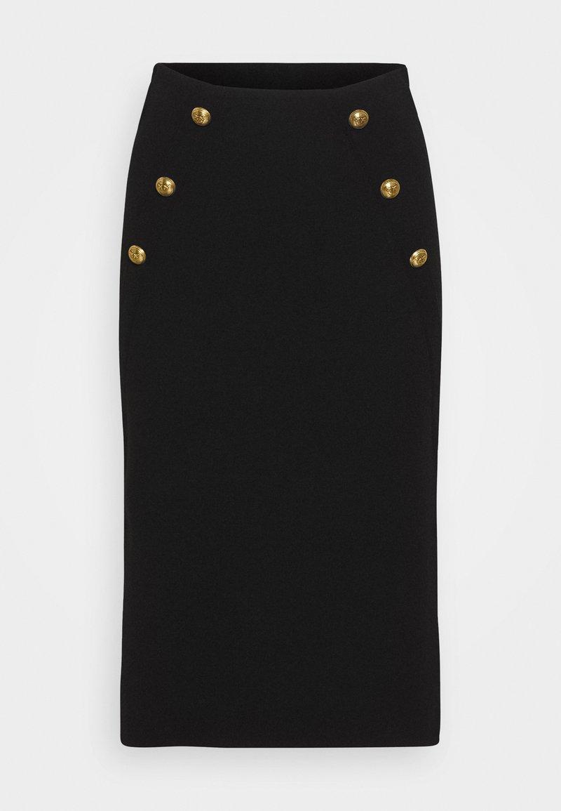Pinko - VANATU SKIRT - Pencil skirt - black