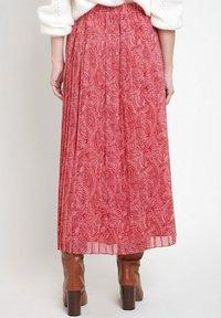 Maison 123 - Pleated skirt - rose rouge - 1