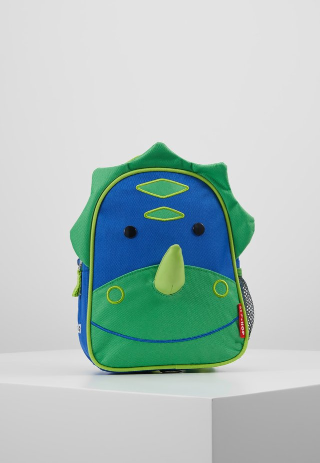 LET BACKPACK DINOSAUR - Ryggsekk - green