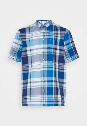 MADRAS CHECK - Shirt - blue