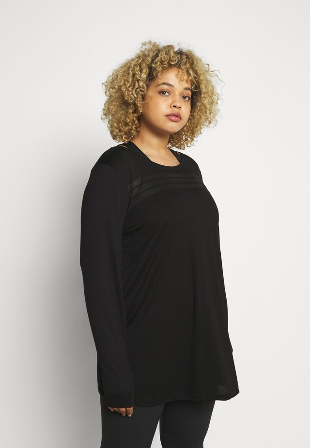 ABEAT - Long sleeved top - black