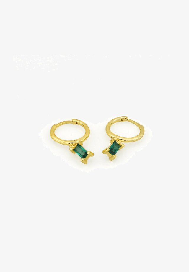 MIT ZIRKONIA - Earrings - gold