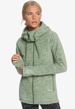 ELECT FEELIN - Fleece jacket - bronze green