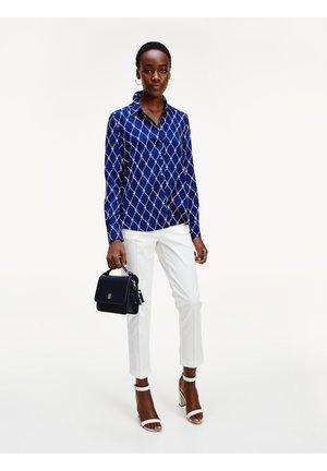 DANEE - Button-down blouse - thc monogram prt / blue ink