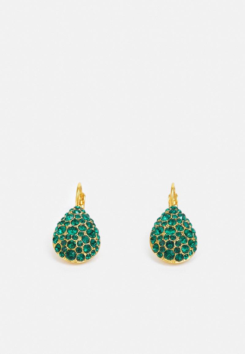 Dyrberg/Kern - BETTA  - Earrings - green/gold-coloured