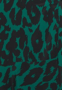 Wallis - GRAPHIC ANIMAL WRAP DRESS - Vestido informal - green - 2