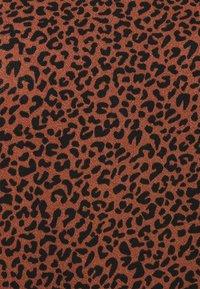 JDY - JDYKIRKBY - Print T-shirt - rustic brown - 2