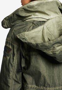 khujo - SHAMA - Summer jacket - olive - 6