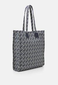 Bally - CABANA CRYSTALIA CASUAL TOTE - Tote bag - natural/midnight - 3