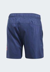 adidas Performance - SOLID TECH SWIM SHORTS - Shorts - blue - 11