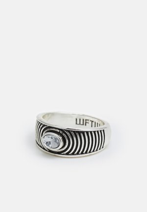 CRISTAL BAND RING - Anello - silver-coloured