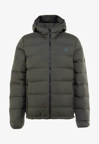 adidas Performance - HELIONIC DOWN JACKET - Chaqueta de invierno - olive - 5