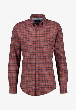 Shirt - burnt red