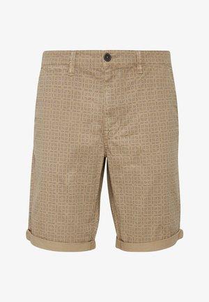 Shorts - mottled beige