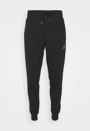 ESSENTIALS EMBRIODERED PANT - Tracksuit bottoms - black