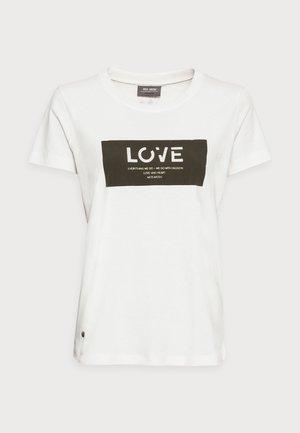 CHÉRIE TEE - T-shirts med print - grape leaf