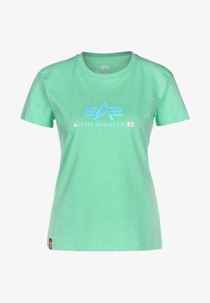 RAINBOW - Print T-shirt - pastel mint