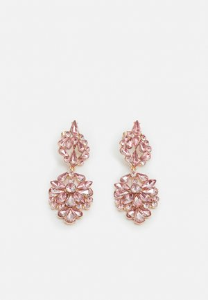 PCNAMLA EARRINGS  - Øreringe - gold-coloured/misty rose