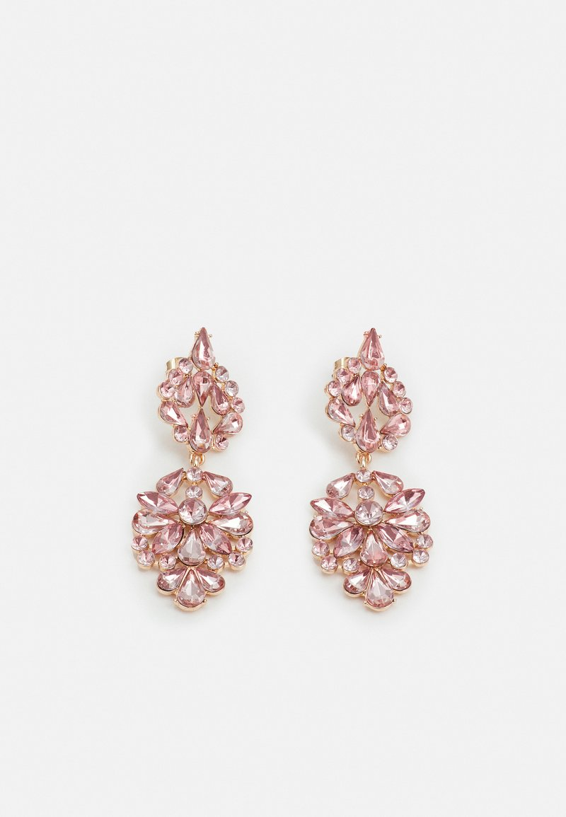 Pieces - PCNAMLA EARRINGS  - Earrings - gold-coloured/misty rose