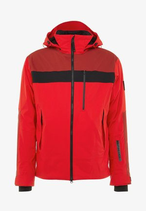 DAMIAN - Snowboard jacket - orange/red