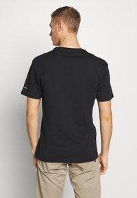 Columbia - BASIC LOGO SHORT SLEEVE - T-shirt imprimé - black icon - 2