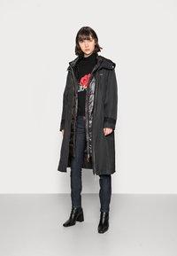 Liu Jo Jeans - IMBOTTITO OVATT LUNG - Winter coat - nero - 1