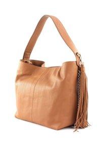 FREDsBRUDER - SOFT ALA - Handbag - dark camel - 3