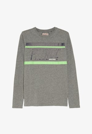 Langærmede T-shirts - light slate melee