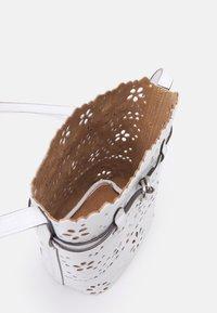 Polo Ralph Lauren - EYELET - Across body bag - white - 2